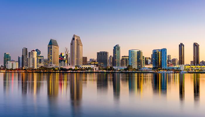 Downtown San Diego Skyline