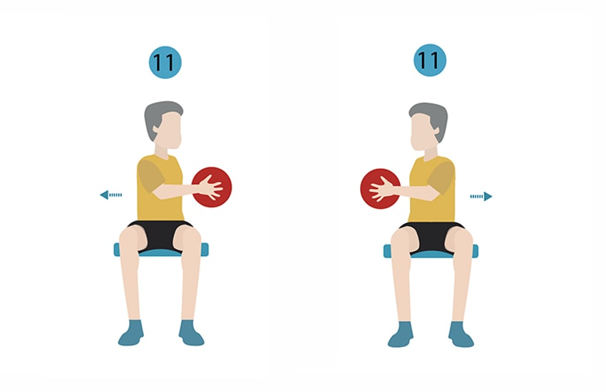 21 Chair Exercises For Seniors Complete Visual Guide