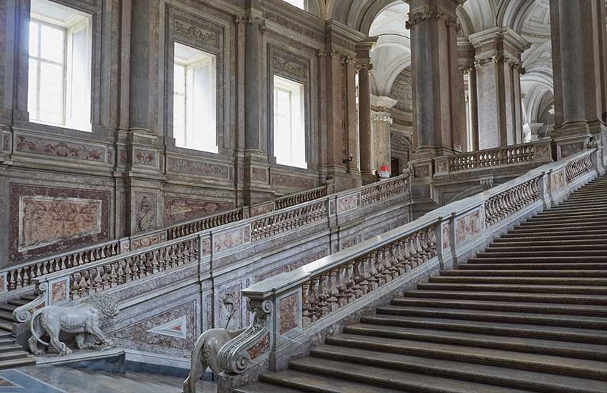 Palace of Caserta staircase