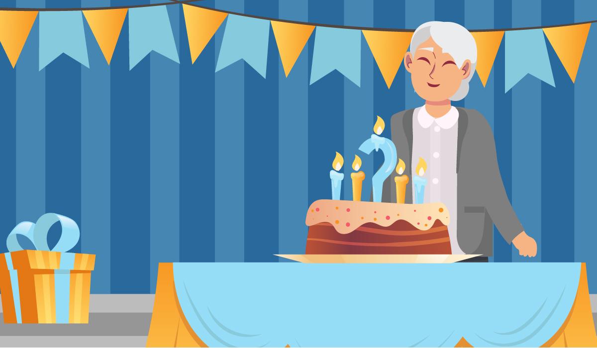 senior citizen birthday