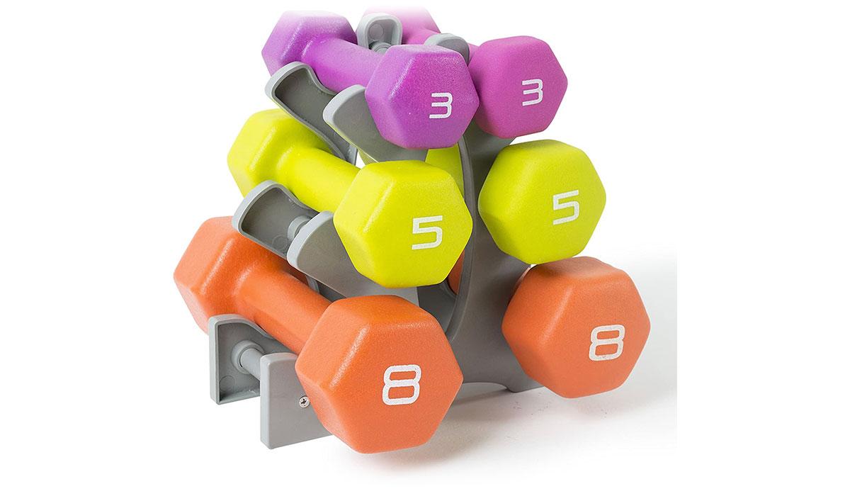 tone fitness dumbbbells