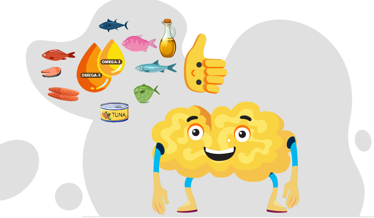 brain food oily food